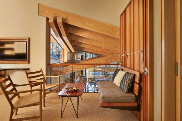 Wooden residence in all its abstract glory  (11)