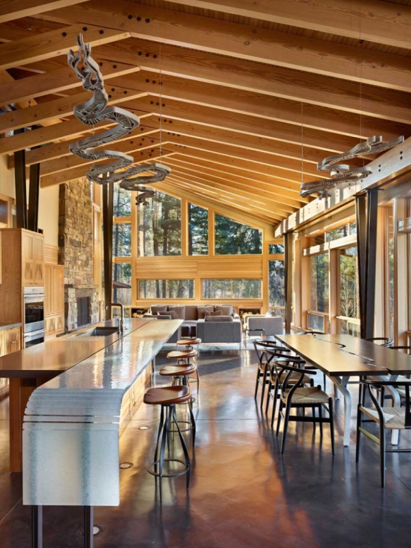 Wooden residence in all its abstract glory  (5)