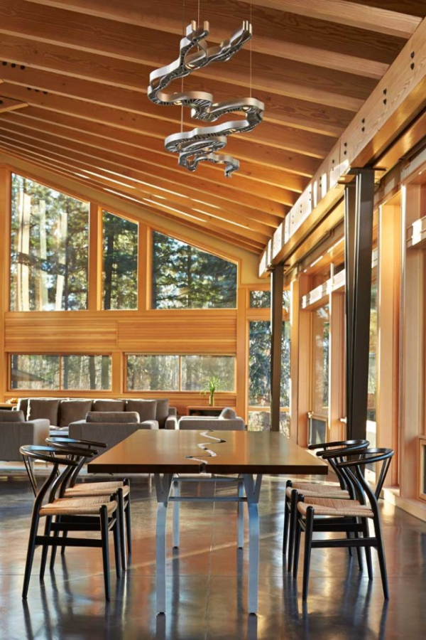 Wooden residence in all its abstract glory  (6)