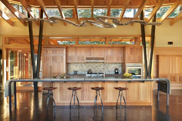 Wooden residence in all its abstract glory  (8)