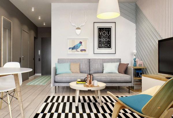 gorgeous studio apartment  (1)