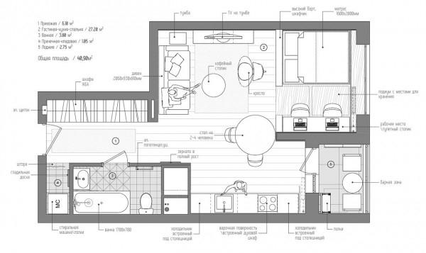 gorgeous studio apartment  (14)
