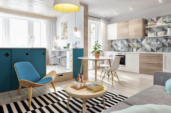 gorgeous studio apartment  (2)
