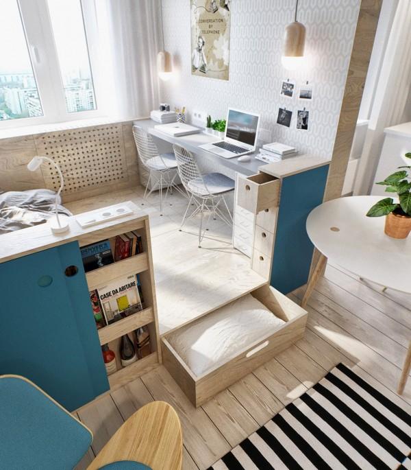 gorgeous studio apartment  (6)