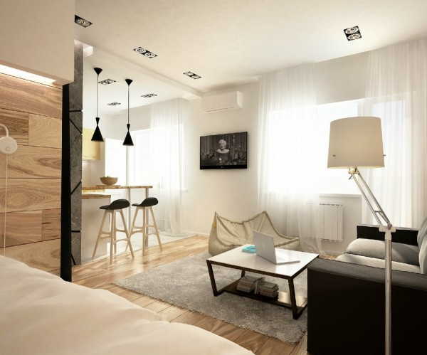 modern studio apartment (1)