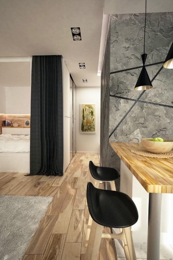 modern studio apartment (4)