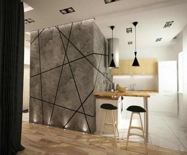 Modern Studio Apartments young, fresh & new: modern studio apartment – adorable home