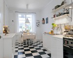 White kitchen design from Sweden  (1)