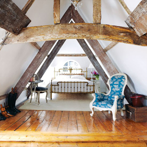 39 Attic Living Rooms That Really Are The Best: Attic Bedroom Designs