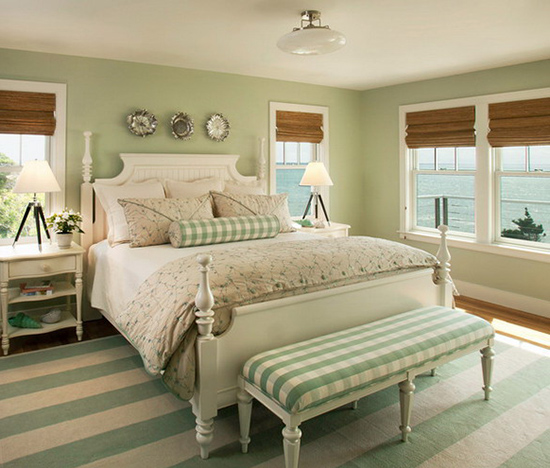 21 country bedroom designs \u2013 adorable homecountry bedroom in green