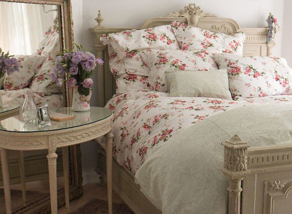 Romantic style in the bedroom (1)