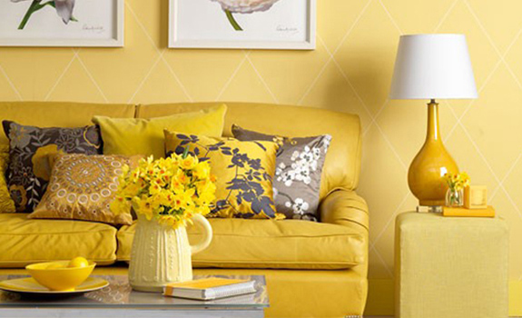 Yellow living room designs adorable home Yellow room design ideas