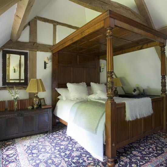 Country bed idea