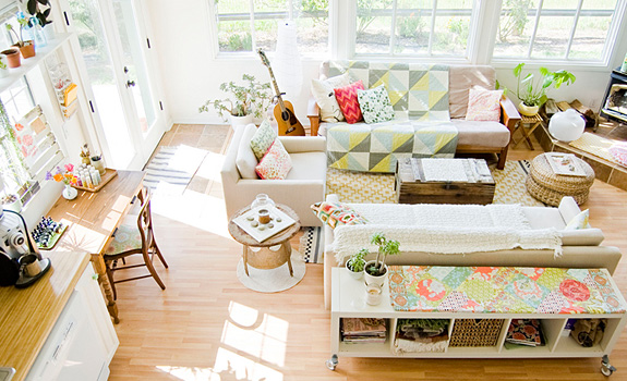 A sunny Californian cottage