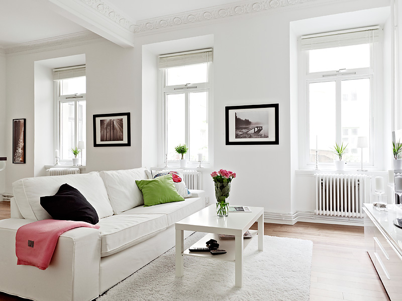 Adorable apartment in white (5)