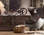 Industrial influence in the home decor (1)