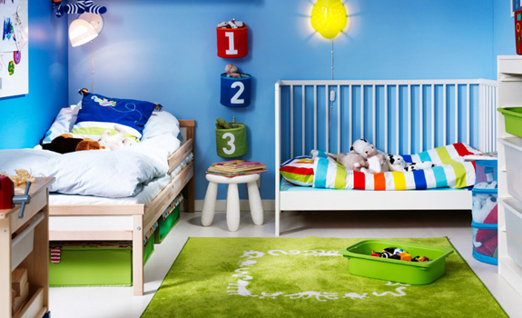Kid's bedroom designs by IKEA