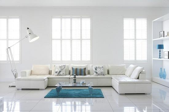 Dazzling white interior (8)