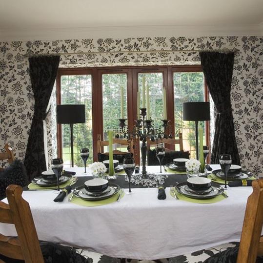 Dining room wallpaper designs (10)