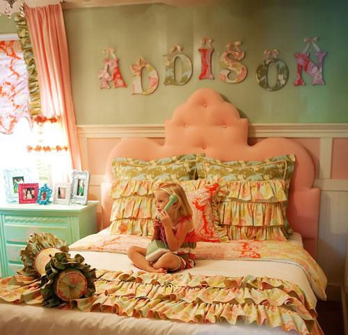 Kids bedroom fairy-tale design (3)