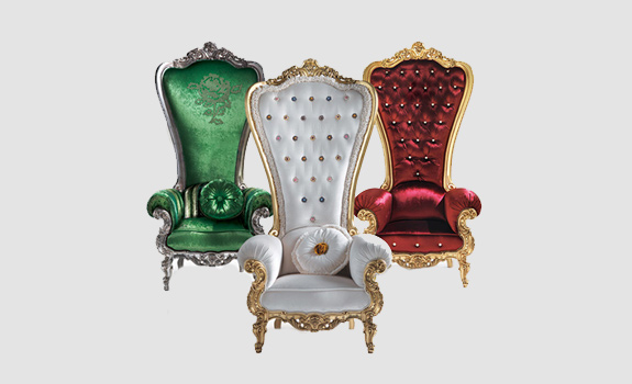 Regal Armchair Throne