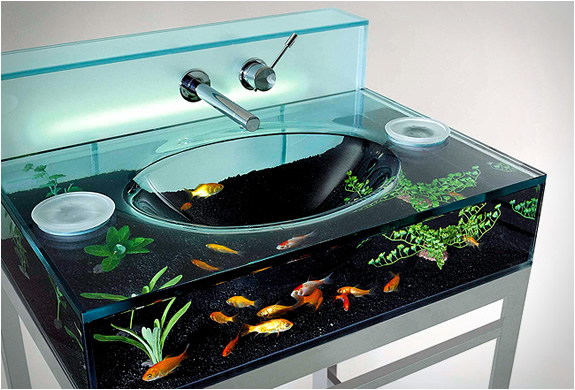The aquarium sink » Adorable Home