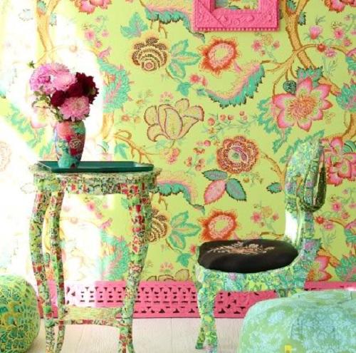 Amy Butler`s home art