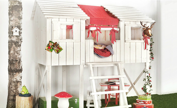 Children's indoor playhouse
