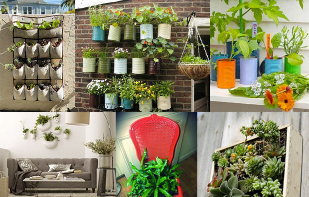 Go green at home adorable home for Idee jardin deco