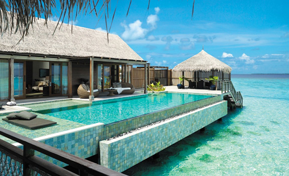 Welcome to Shangri La's Villingili Resort & Spa on the Maldives