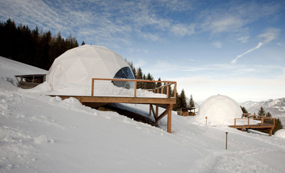 Weirdest Ski Resort: The Whitepod