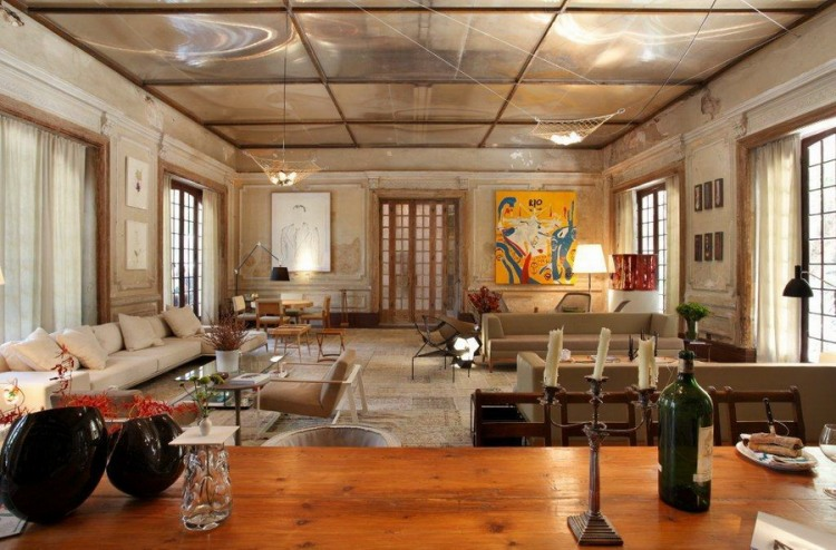 Artistic design of an old hotel in Brazil (2)