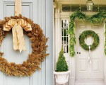 Beautiful Christmas wreaths for the front door (7)