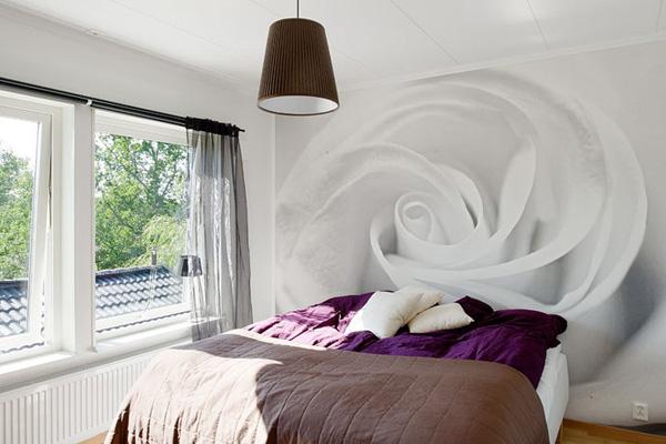 Simple Eclectic Bedroom