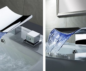 Cool and modern bathroom sink faucets