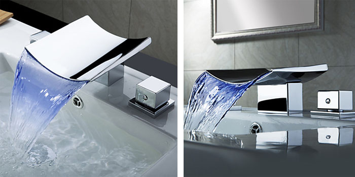 Cool and modern bathroom sink faucets (4)