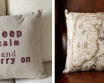 Cotton and linen decorative pillows (8)