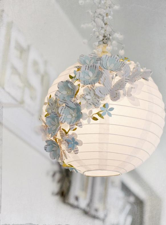 DIY 3D paper lamp