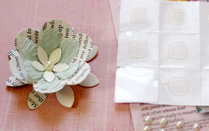 Materials for DIY 3D paper lamp