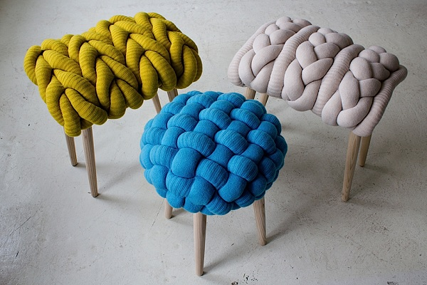 Funky knitted chairs (8)