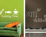 Original wall stickers for the bare wall (4)