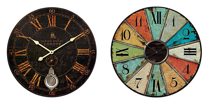 Retro style wall clocks (7)