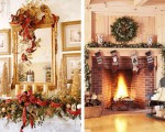 Sophisticated Christmas decoration in gold (1)