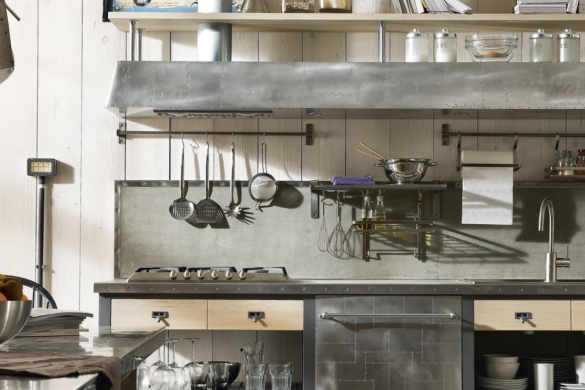 Vintage And Industrial Style Kitchens (6)