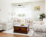 Welcoming white interior with delicate decorations (10)