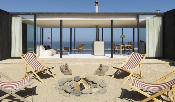 A beach house in Chile