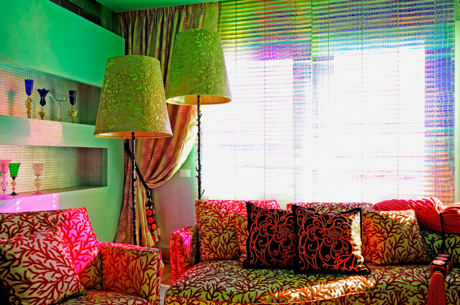 Colorful and extravagant interior by Selvaggio (3)
