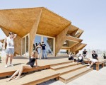Contemporary design of an eco friendly pavilion (10)