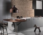 Contemporary modular kitchen solutions by Rossana