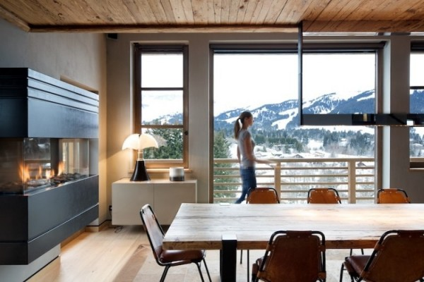 Contemporary winter chalet in the French Alps (4)